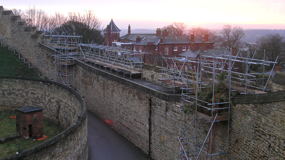 Scaffolding for Refurbishment