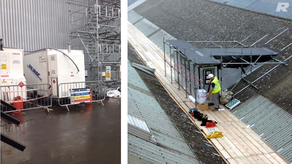 Roof Replacement Works For The Lindum Group Rilmac