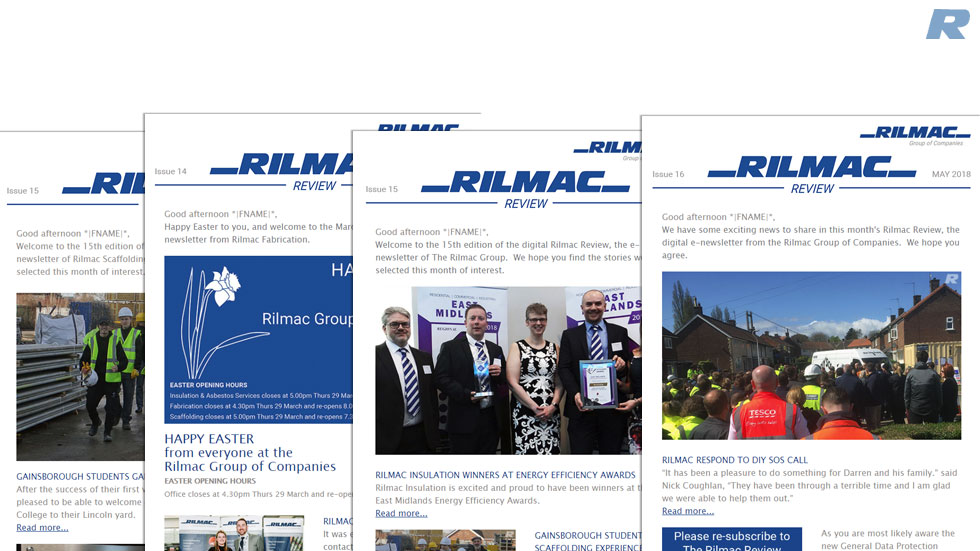 SUBSCRIBE TO THE DIGITAL RILMAC REVIEW