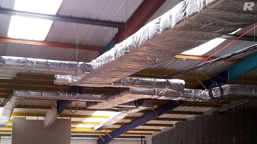 Insulation for Heating & Ventilation